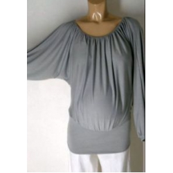 Long Sleeved Batwing  Top